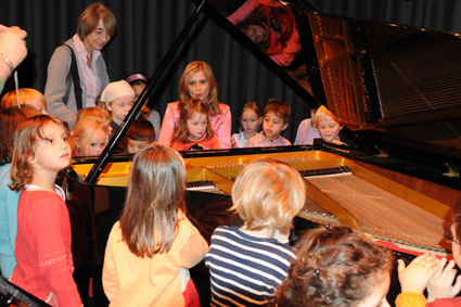 Kinderkonzert von mini.musik im Steinway Haus Mnchen